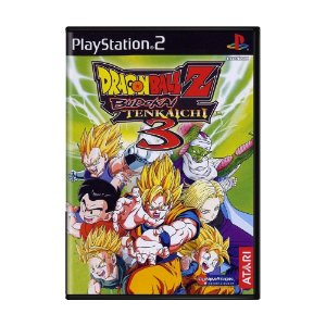 Jogo Dragon Ball Z: Budokai Tenkaichi 3 - PS2