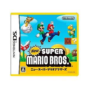 Jogo New Super Mario Bros - DS (Japonês)