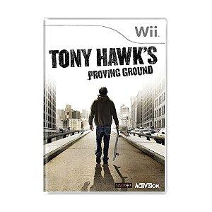 Jogo Tony Hawk's: Proving Ground - Wii