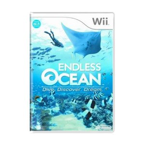 Jogo Endless Ocean: Dive, Discover, Dream - Wii