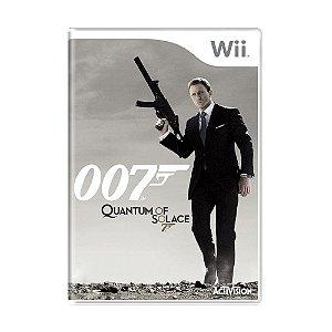 Jogo James Bond 007: Quantum of Solace - Wii