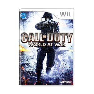 Jogo Call of Duty: World at War - Wii