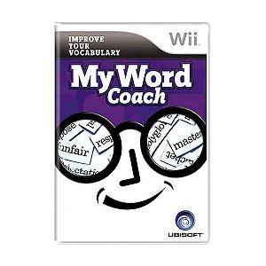Jogo My Word Coach - Wii