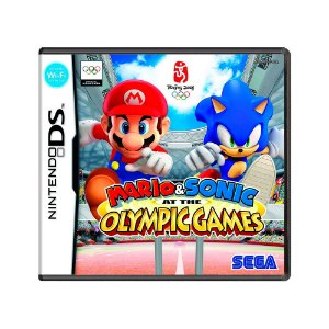 Jogo Mario & Sonic Olympic Games 2002 - DS