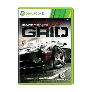 Jogo Race Driver: GRID - Xbox 360 [Europeu]