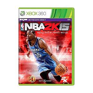 Jogo NBA 2K15 - Xbox 360