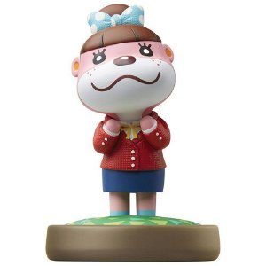 Nintendo Amiibo: Lottie - Animal Crossing - Wii U e New Nintendo 3DS