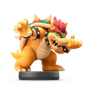 Nintendo Amiibo: Bowser - Super Smash Bros - Wii U e New Nintendo 3DS