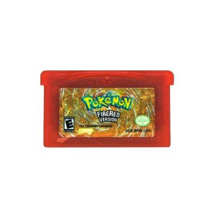Jogo Pokémon Fire Red Version - GBA Game Boy Advance
