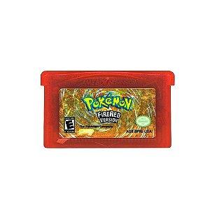 Jogo Pokémon Fire Red Version - GBA Game Boy Advance