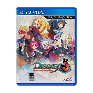Jogo Disgaea 3: Absence of Detention - PS Vita