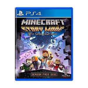 Jogo Minecraft: Story Mode - PS4