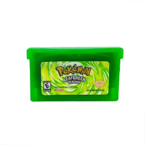 Jogo Pokémon Leaf Green Version - GBA Game Boy Advance