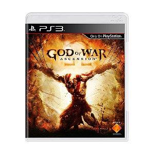 Jogo God of War: Ascension - PS3 [Europeu]