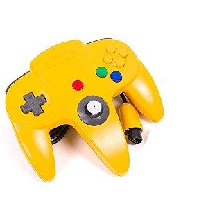 Controle Nintendo 64 Amarelo - Nintendo