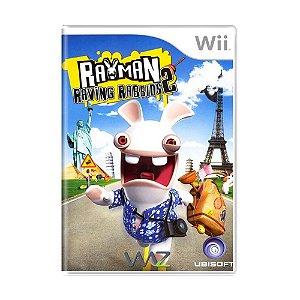 Jogo Rayman Raving Rabbids 2 - Wii