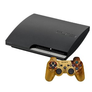 Console PlayStation 3 Slim 500GB + 2 Jogos de Brinde - Sony