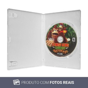 Jogo Donkey Kong Country Returns - Wii (Sem Capa)