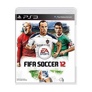 Jogo Fifa 2012 (FIFA 12) - PS3
