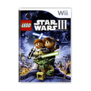Jogo LEGO Star Wars III: The Clone Wars - Wii