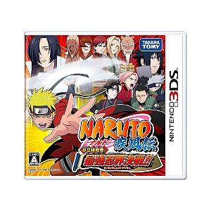 Jogo Naruto Shippuden: Ninrattai Emaki! Saikyou Ninkai Kessen!! - 3DS