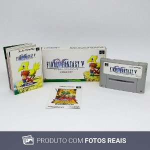 Jogo Final Fantasy V - Super Famicom
