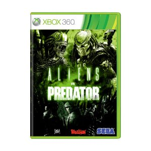 Jogo Aliens Vs Predator - Xbox 360