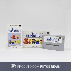 Jogo Final Fantasy IV - Super Famicom