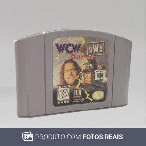 Jogo WCW vs nWo: World Tour - N64