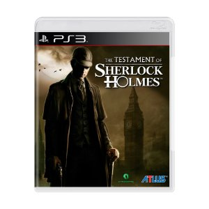 The Testament of Sherlock Holmes - PS3