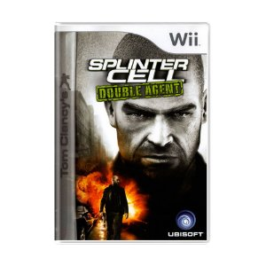 Jogo Tom Clancy's Splinter Cell: Double Agent - Wii