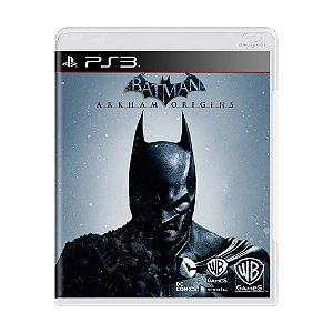 Jogo Batman Arkham Origins - PS3