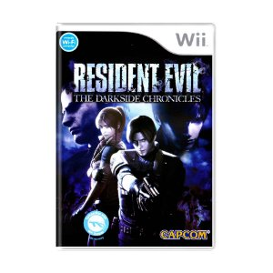 Jogo Resident Evil: The Darkside Chronicles - WII