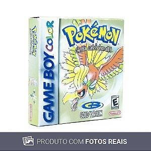 Jogo Pokémon Gold Version - GBC