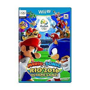 Jogo Mario & Sonic at the Rio 2016 - Wii U