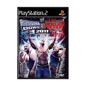 Jogo WWE Smackdown vs Raw 2011 - PS2