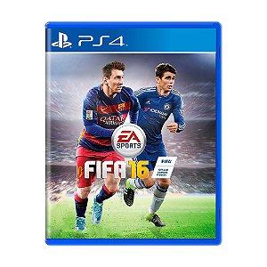 Jogo Fifa 16 (FIFA 16) - PS4