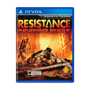 Jogo Resistance Burning Skies - PS Vita