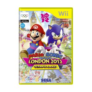 Jogo Mario & Sonic at the London 2012 Olympic Games - Wii