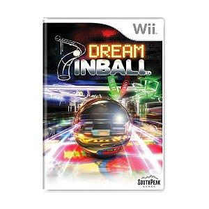 Jogo Dream Pinball - Wii