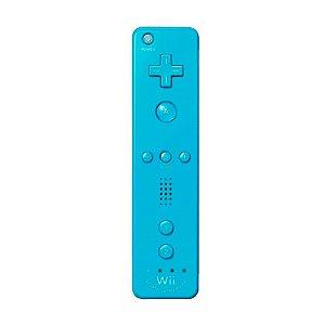 Controle Nintendo Wii Remote Plus Azul - Wii