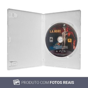 Jogo L.A. Noire - PS3 (Sem Capa)