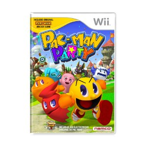 Jogo Pac-Man Party - Wii