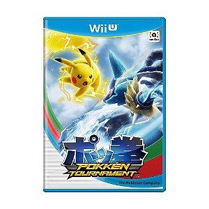 Jogo Pokkén Tournament - Wii U