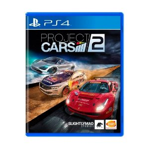 Jogo Project Cars 2 - PS4