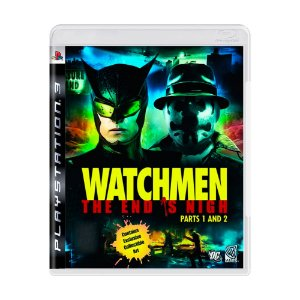 Jogo Watchmen The End is Nigh - Parte 1 e 2 - PS3