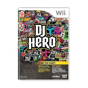 Jogo DJ Hero - Wii
