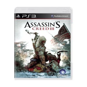 Jogo Assassin's Creed III - PS3