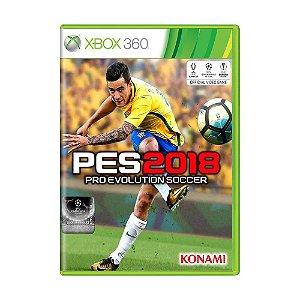 Jogo Pro Evolution Soccer 2018 (PES 18) - Xbox 360