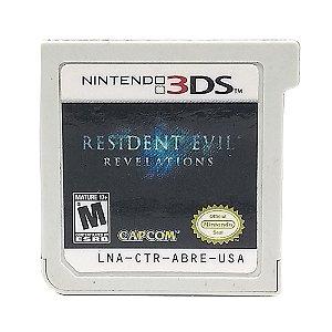 Jogo Resident Evil: Revelations - 3DS (Sem Capa)